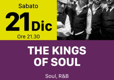 Kings of Soul - INOUT Musiclub Cagliari