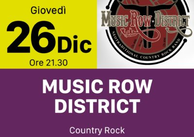 Music Row District - INOUT Musiclub Cagliari
