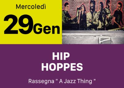 Hip Hoppes - INOUT Musiclub Cagliari