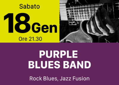 Purple Blues Band - INOUT Musiclub Cagliari