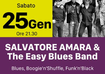 Salvatore Amara - The Easy Blues Band - INOUT Musiclub Cagliari