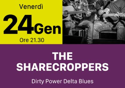 The Sharecroppers - INOUT Musiclub Cagliari