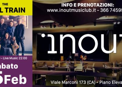 The Soul Train Band - INOUT Musiclub Cagliari